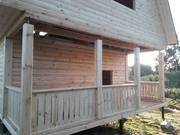 Дом сруб Арнольд 6х6м из бруса